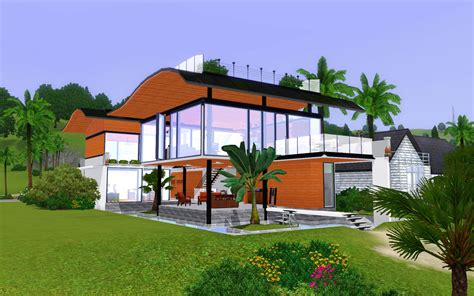 mod the sims singapore fish house