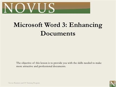 theme definition in microsoft word word lesson 3 enhancing documents