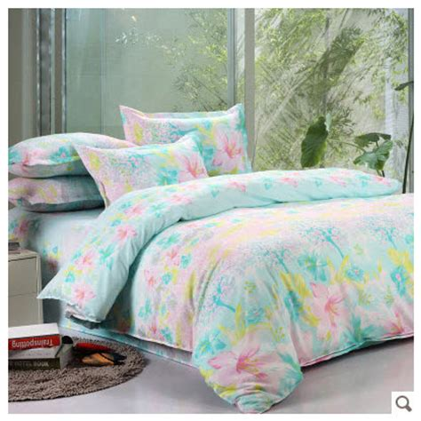 mint green twin bedding floral mint green bedding set colorful light spring 4