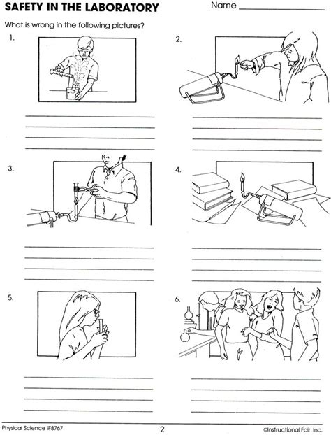Safety For Worksheets by Lab Safety Worksheet Keller Science Activities