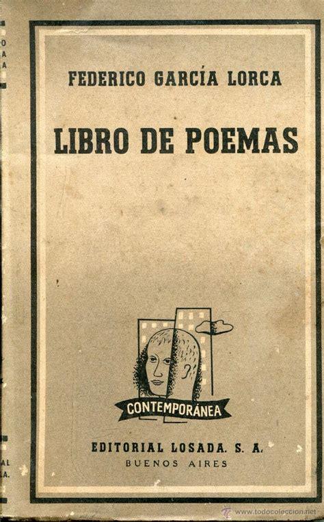 libro federico garcia lorca a libro de poemas federico garcia lorca comprar libros de poes 237 a en todocoleccion 43455141