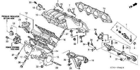 1995 acura integra parts diagram acura auto parts