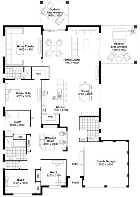 masterton homes floor plans symphony 5 masterton homes house designs pinterest