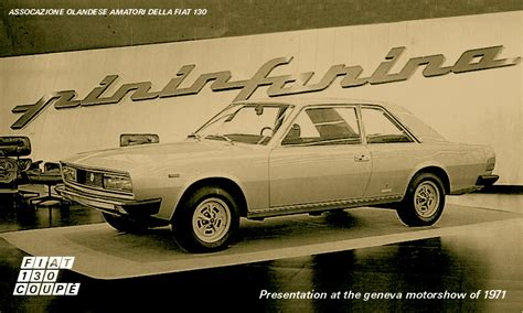Simple And Sober by Fiat 130 Coup 233 De Nederlandse Fiat 130 Website