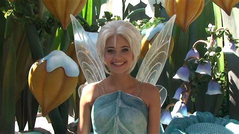 film disneyland fairy periwinkle debuts at disneyland meet greet w