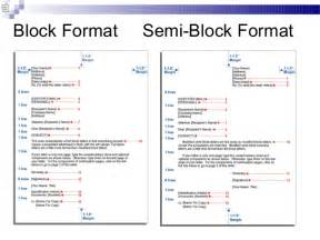 Business Letter Semi Block Style Format Business Communication Chap 2 Business Writing
