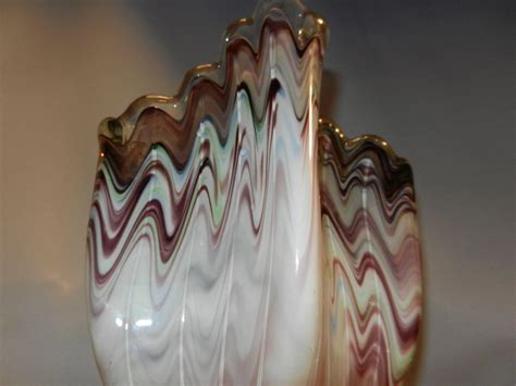 hand blown glass ls vintage hand blown glass vase my grandmother had one