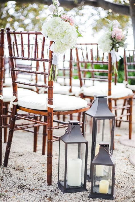 Wedding Aisle With Lanterns by Ceremony D 233 Cor Photos Lantern And Flower Aisle Markers
