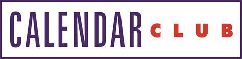 Calendar Logo Calendar Club Logos And Store Images