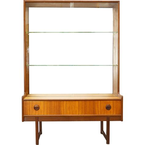 mid century display cabinet turnidge mid century glass display cabinet 1960s