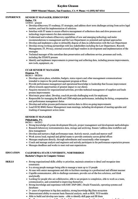 sample senior project manager resumes ideal vistalist co