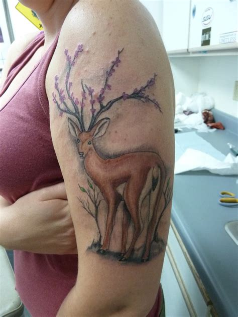 buck tattoos deer tattoos designs ideas and meaning tattoos for you