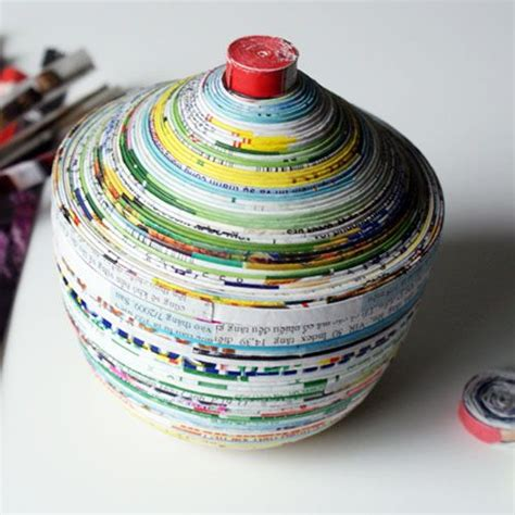 Paper Recycling Crafts - recycled craft ideas saved by creations get