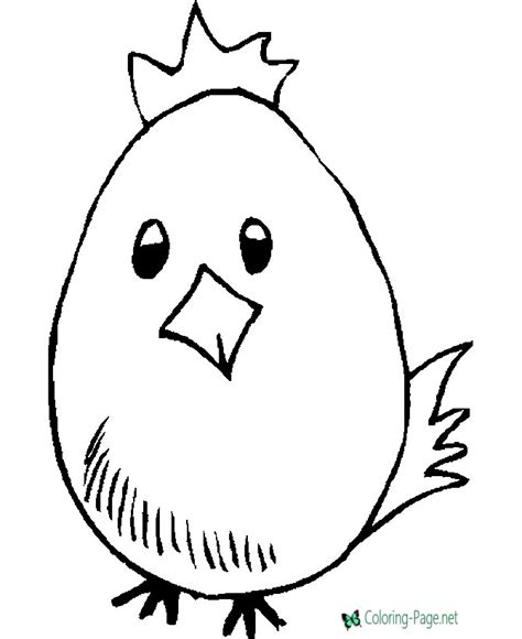 Happy Duck Easter Egg Coloring Page Princess Color In Pages Free Coloring Sheets