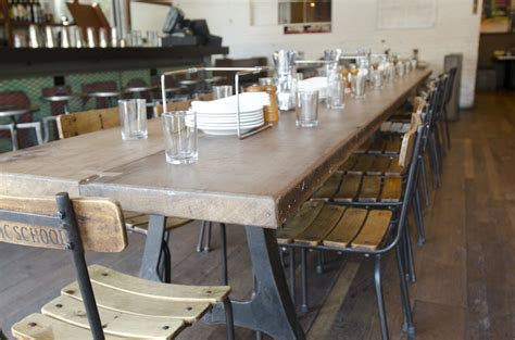 Table Pizza Bar by Restaurant Design Trends Take On Classic Looks