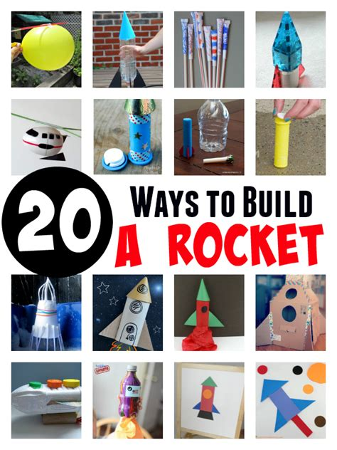 What To Put In Kitchen Canisters 20 ways to build a rocket experiments and crafts