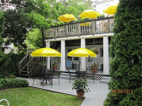 rehoboth guest house back yard decks picture of rehoboth guest house rehoboth beach tripadvisor