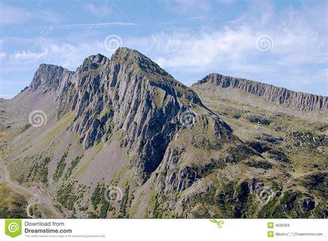 royalty free stock images steep mountain ridge image