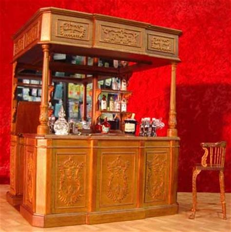 doll house bar doll house miniatures 1 12 dolls house bar billiards den library and office