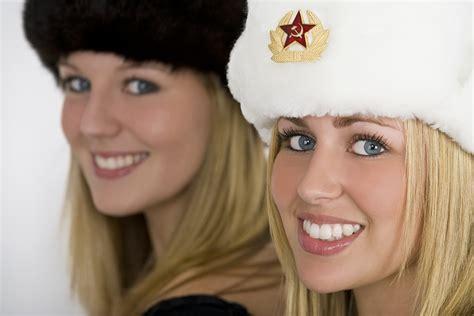 Russian man american woman
