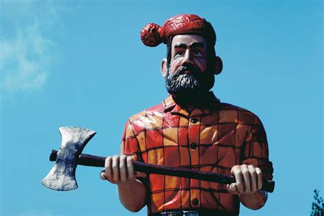 One Story Home was there a real paul bunyan howstuffworks