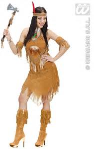 apache indian squaw fancy dress forever