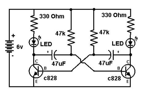 c828 transistor circuit diagram electronic circuit diagrams transistor led flasher