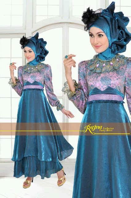 Busana Pesta Muslim Grosir Ammore Dress Furing princess rajna tosca baju muslim gamis modern