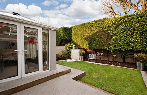glass door wendover contemporary glass extension with patio in wendover