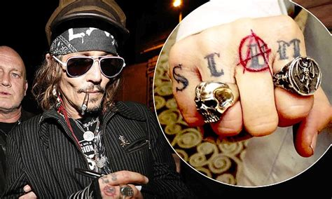 amber heard tattoos johnny depp has heard inspired re worked
