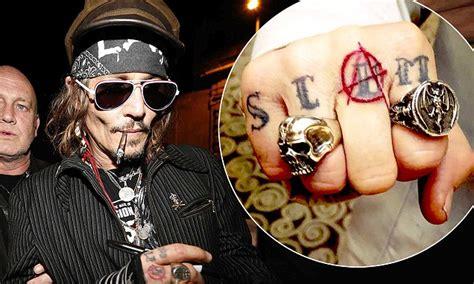 amber heard tattoo johnny depp has heard inspired re worked