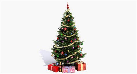 christmas tree obj
