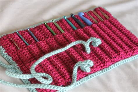 crochet pattern hook holder crochet hook case http lomets com