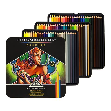 prismacolor colored pencils prismacolor premier colored pencils 72 set soft