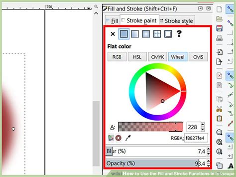 inkscape tutorial fill and stroke how to use the fill and stroke functions in inkscape 14 steps
