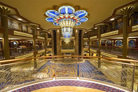 inside the disney dream from the deck chair
