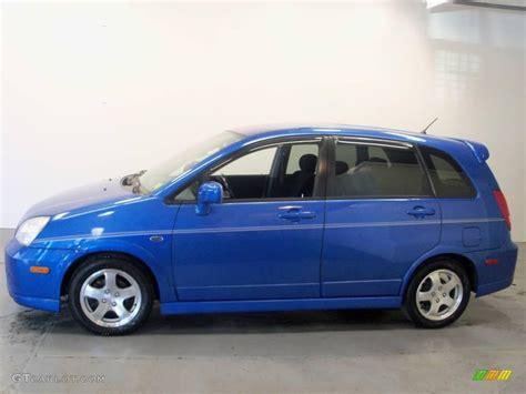 Suzuki Aerio 2004 2004 Cosmic Blue Metallic Suzuki Aerio Sx Awd Sport Wagon