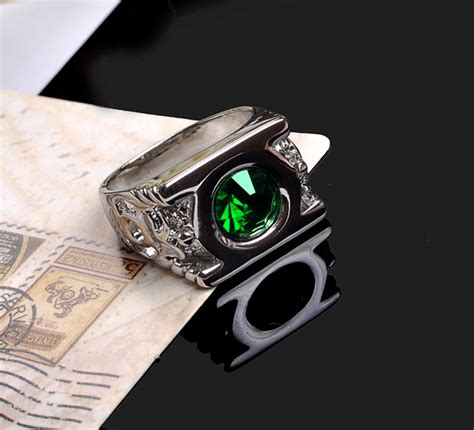 mens dc green lantern austrian ring