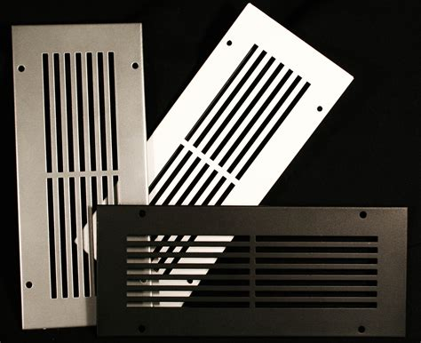 metal vent linear slotted vent cover