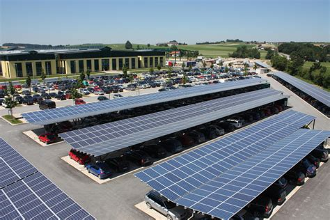 Solar Car Port by Photo Of The Week Solar Panel Parking