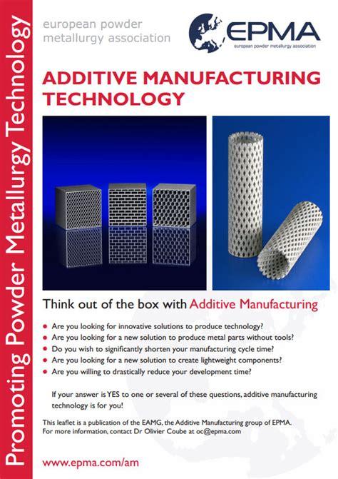 design for additive manufacturing pdf european powder metallurgy association epma additive