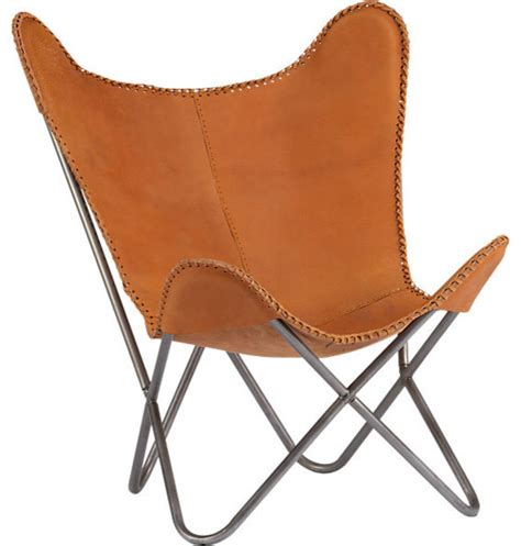 Butterfly Armchair by 1938 Leather Butterfly Chair Midcentury Armchairs And