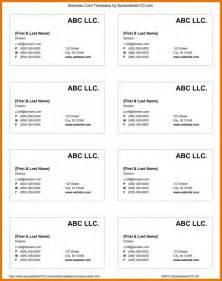 business card template google docs themesclub net