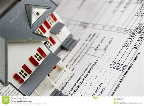 property taxes stock photo image of financial buyers