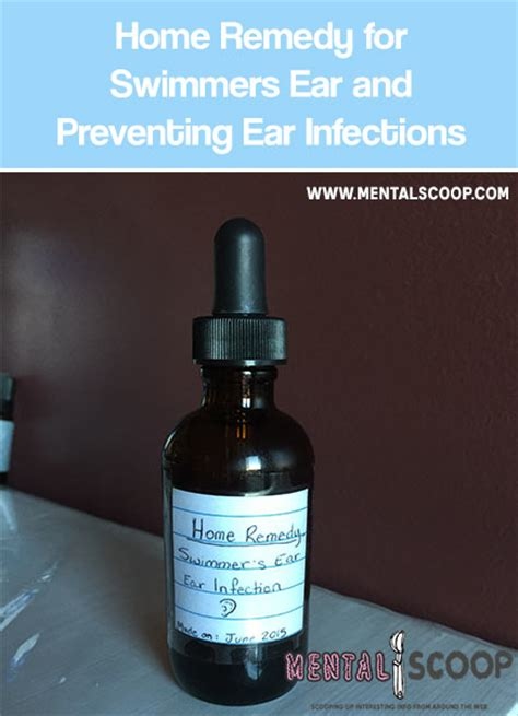 home remedy for swimmers ear and preventing ear infections