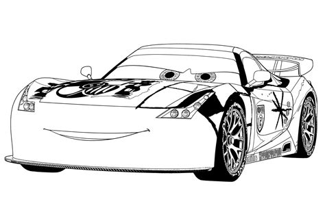 Coloring Page Cars 2 by Cars 2 Coloring Pages Coloring Pages For Free