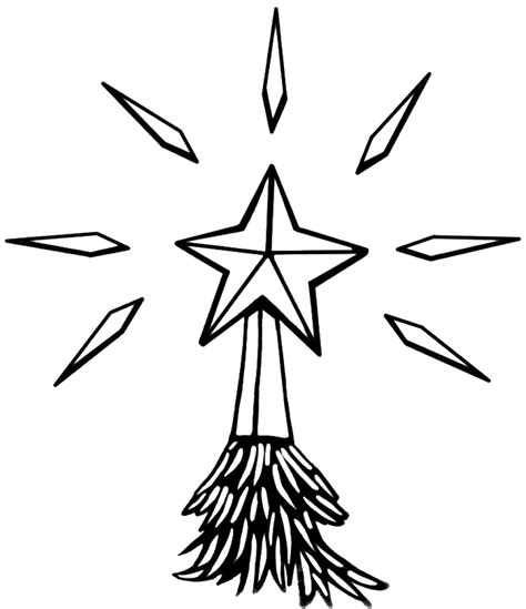 colouring pages christmas star christmas star coloring page coloring home