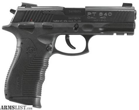 Taurus Pt 840 40s W armslist for sale bnib taurus pt 840 40 s w pistol