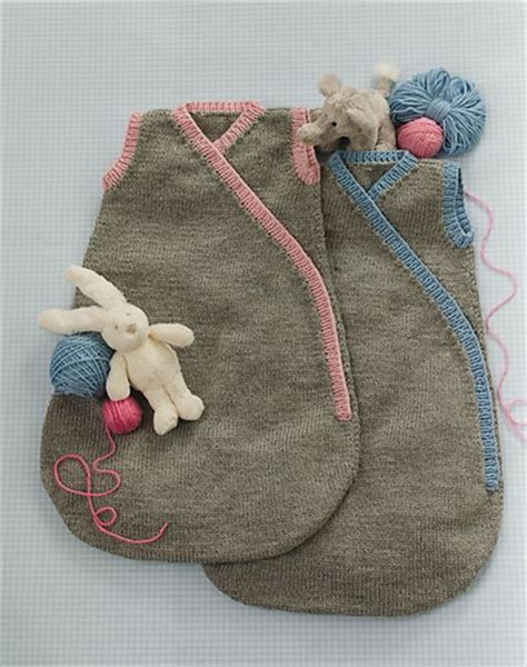 knitted baby sack baby cocoon snuggly sleep sack wrap knitting patterns