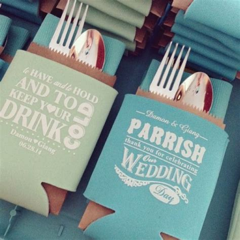 Wedding Gift Koozies by 25 Best Ideas About Wedding Koozies On